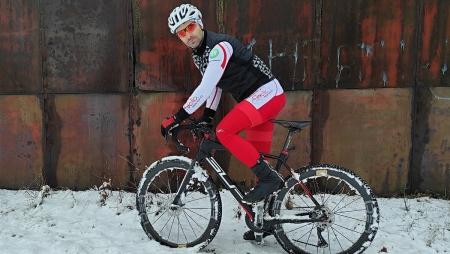 The ultramarathoner tests CALOBRA ULTRA in the snow