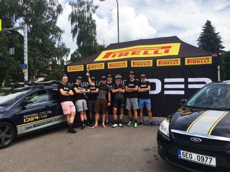 Milan Záleský gewann das Double für das Rafkarna IDEA Cycling Team